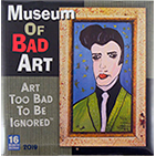2019 Museum of Bad Art Calendar